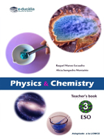 Physics and chemistry 3º ESO. Teacher's book